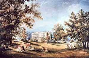 Abington Hall, ca 1750.From TWI Library Archive, sourced from http://www4.twi.co.uk/libarchive/lib_who_lived.html