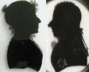Mary, Countess of Chatham and John, 2nd Earl of Chatham by Charles Rosenburg (ca 1800)