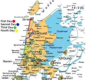 noord-holland_map