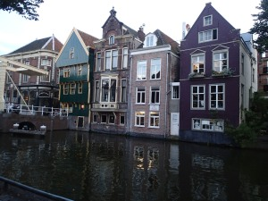 Warehouses by the canal in Alkmaar