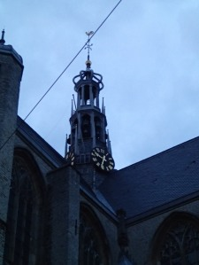 Sint Laurenskerk in Alkmaar. The Duke of York sent his aide-de-camp up this church tower to see what was going on during the 6 October action