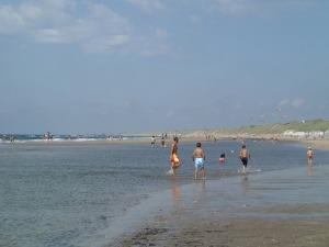 Beach at Wijk-aan-Zee looking down towards the bigger dunes in the north