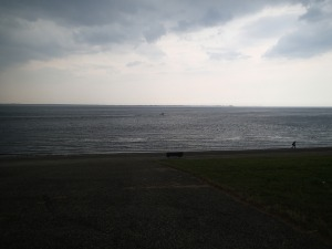 Looking out to Texel from Den Helder