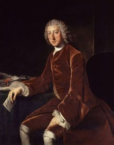 William Pitt the Elder, 1st Earl of Chatham by William Hoare (Wikimedia Commons) [b]