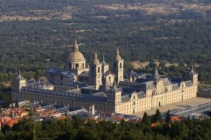 The Escorial, Madrid (from http://en.wikipedia.org/wiki/File:Vista_aerea_del_Monasterio_de_El_Escorial.jpg)