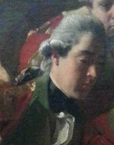 """John, 2nd Earl of Chatham, in John Singleton Copley's """"The Death of the Earl of Chatham"""" (1779)"""