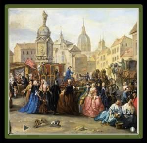 Madrid in the 18th century (from https://villajardines.wordpress.com/history/)