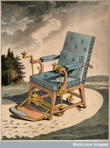 A Merlin chair from 1811 (Wellcome Library)