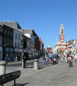 Colchester today (Wikimedia Commons)