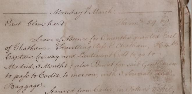 governors_diary_1778_chatham_leave_detail