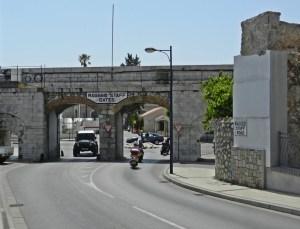 Ragged Staff Gates, Gibraltar (Wikimedia Commons)