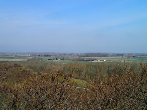 View towards Middelburg from the dyke above Zouteland Bay