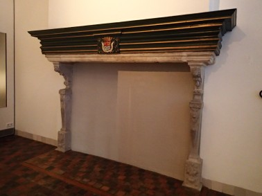 Middelburg Abbey fireplace