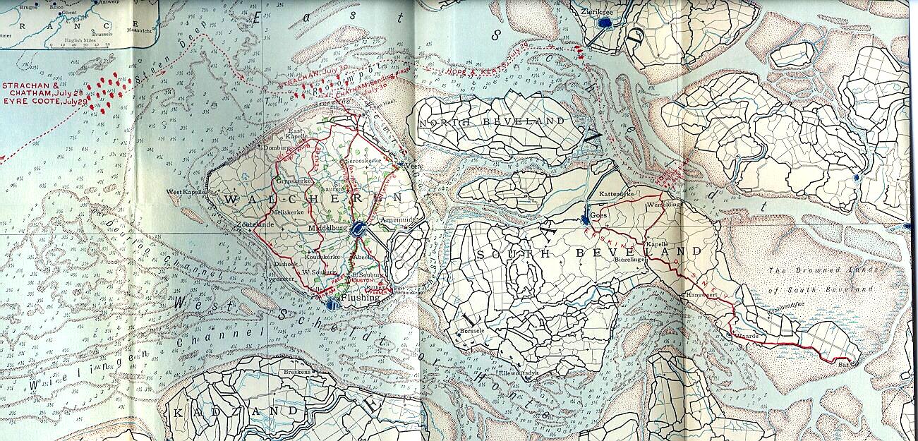 walcheren map from flickr