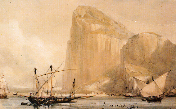 rock_of_gibraltar_1810