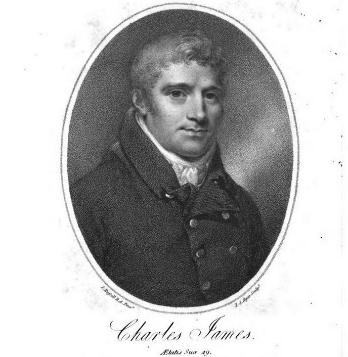 James portrait from Poems vol 1 1811